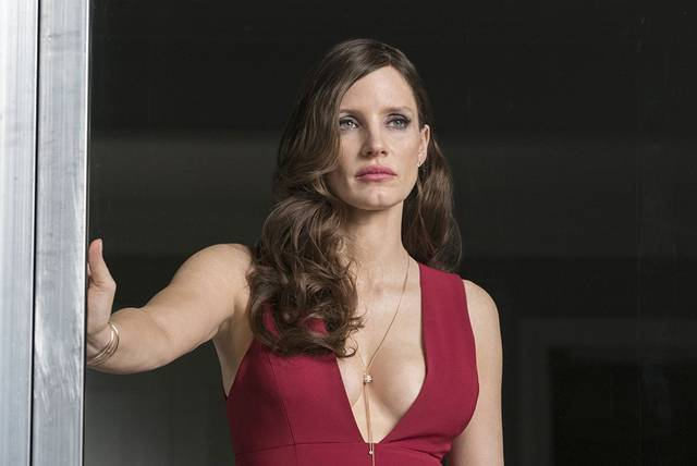 Molly's Game Jessica Chastain foto dal film 16