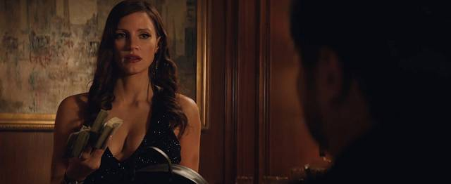 Molly's Game Jessica Chastain foto dal film 1