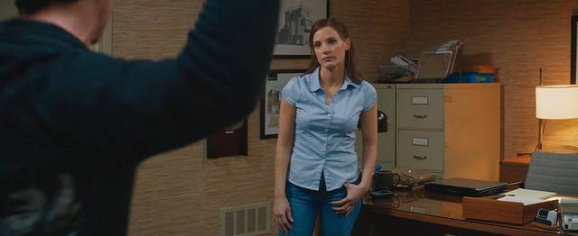 Molly's Game Jessica Chastain foto dal film 27