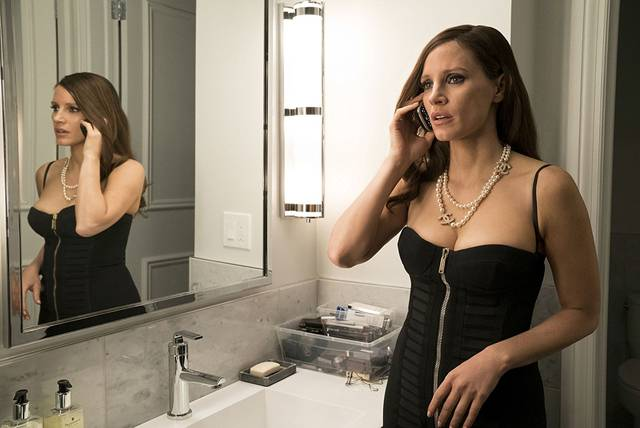 Molly's Game Jessica Chastain foto dal film 28
