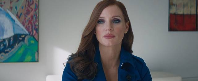 Molly's Game Jessica Chastain foto dal film 6