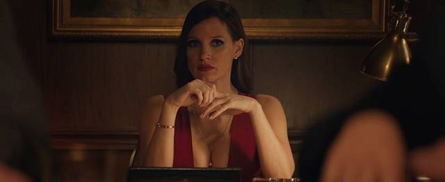 Molly's Game Jessica Chastain foto dal film 7