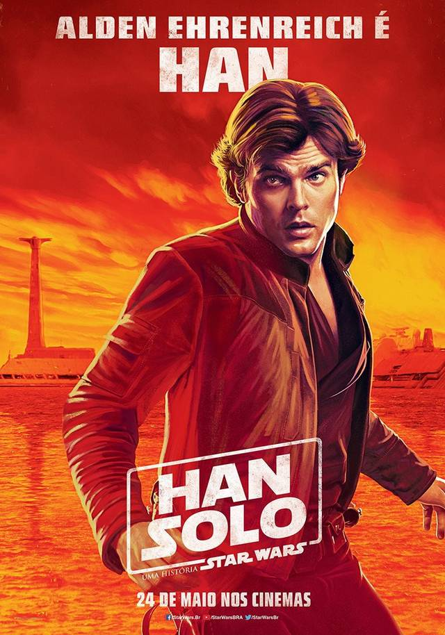 Solo - A Star Wars Story Teaser Character Poster Brasile 2
