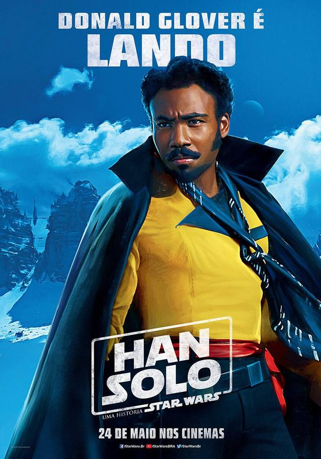 Solo - A Star Wars Story Teaser Character Poster Brasile 3