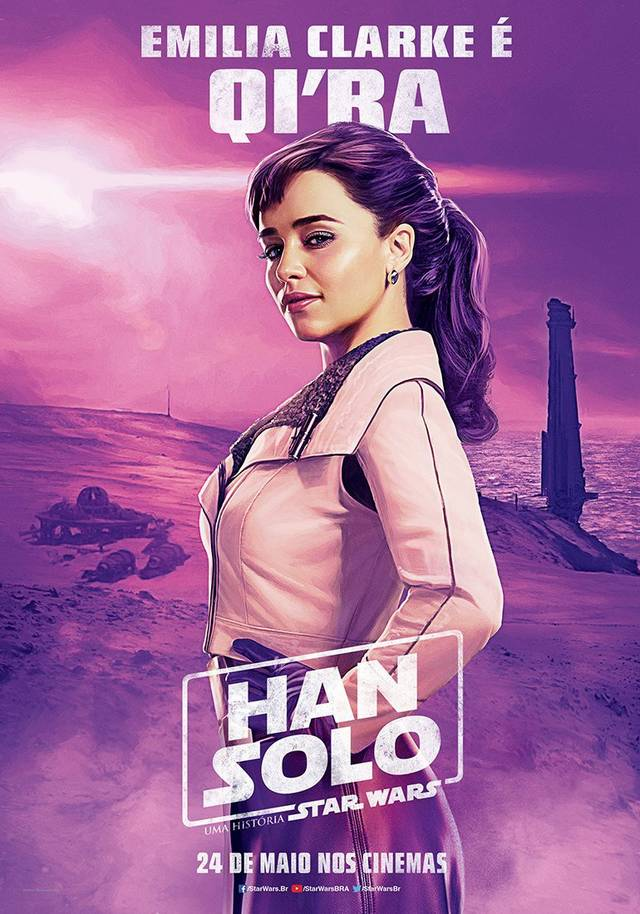Solo - A Star Wars Story Teaser Character Poster Brasile 4