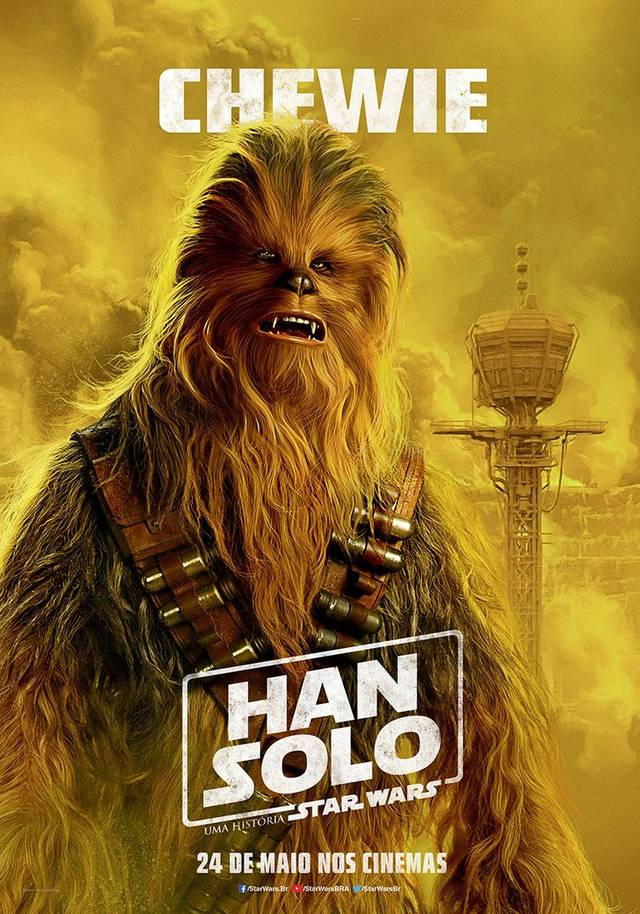 Solo - A Star Wars Story Teaser Character Poster Brasile 5