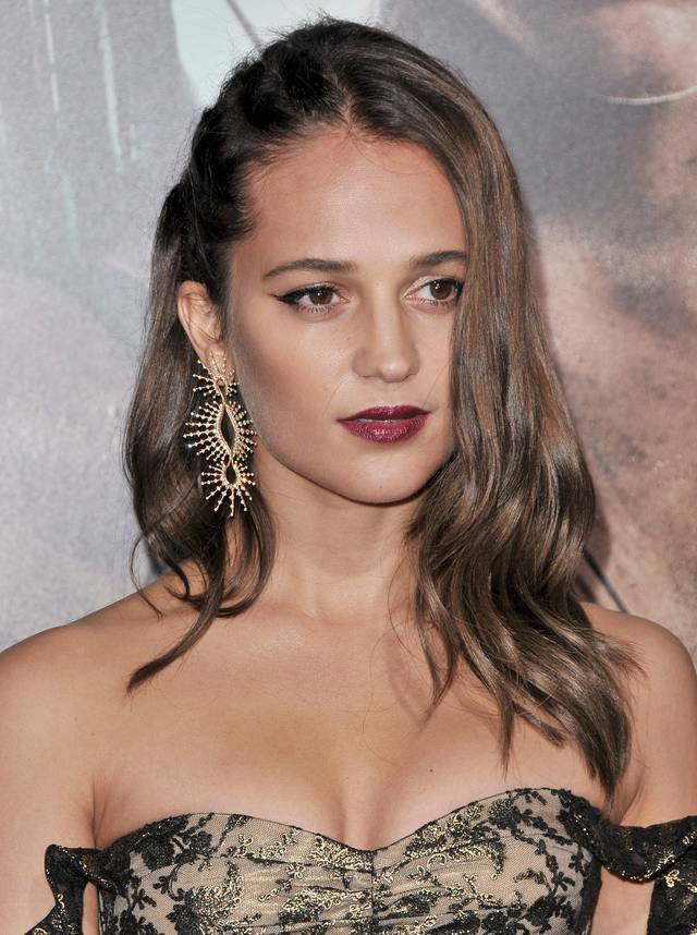 Tomb Raider - Alicia Vikander Premiere Hollywood foto 19