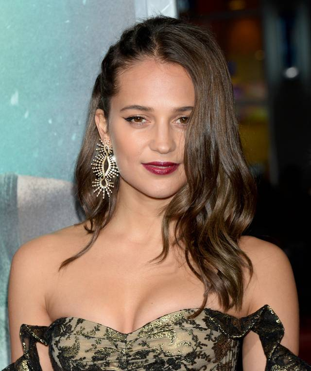 Tomb Raider - Alicia Vikander Premiere Hollywood foto 1