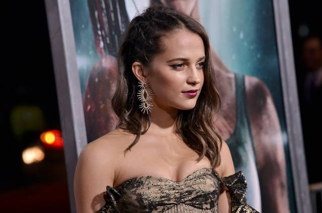 Tomb Raider - Alicia Vikander Premiere Hollywood foto 20