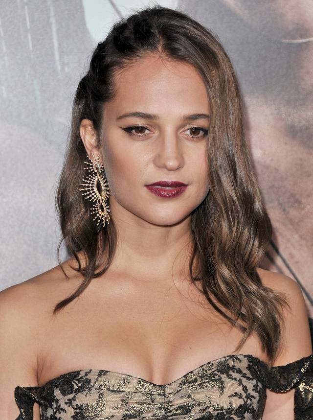 Tomb Raider - Alicia Vikander Premiere Hollywood foto 21