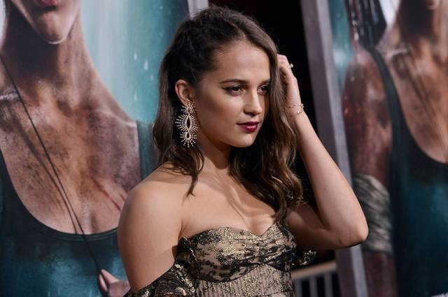Tomb Raider - Alicia Vikander Premiere Hollywood foto 22