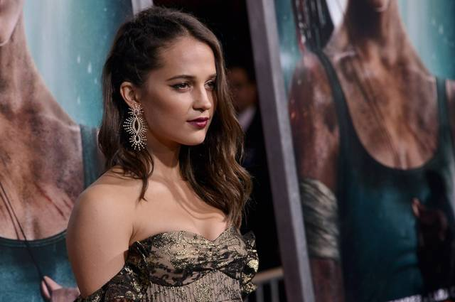 Tomb Raider - Alicia Vikander Premiere Hollywood foto 24
