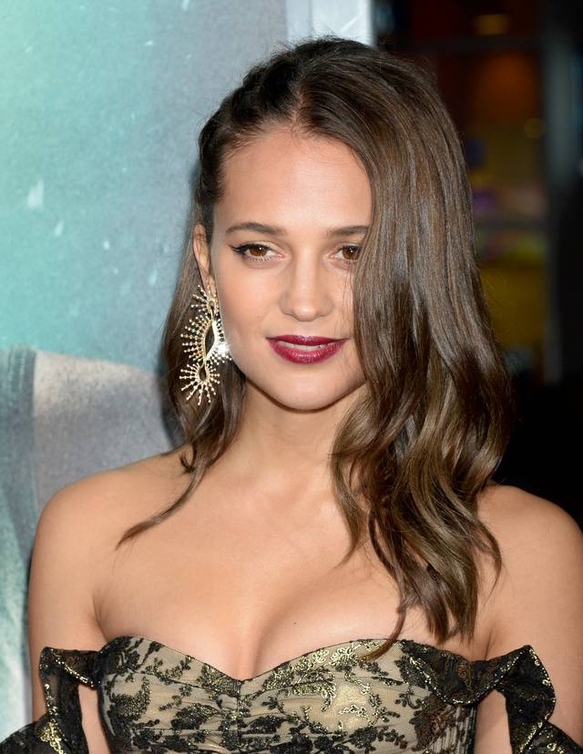 Tomb Raider - Alicia Vikander Premiere Hollywood foto 2