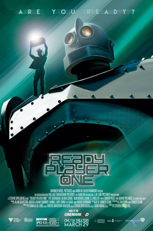 Ready Player One Artwork Poster USA 1