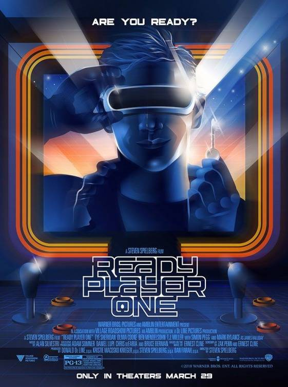 Ready Player One Artwork Poster USA 2