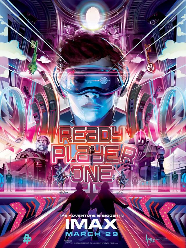 Ready Player One Teaser IMAX Artwork Poster USA 3