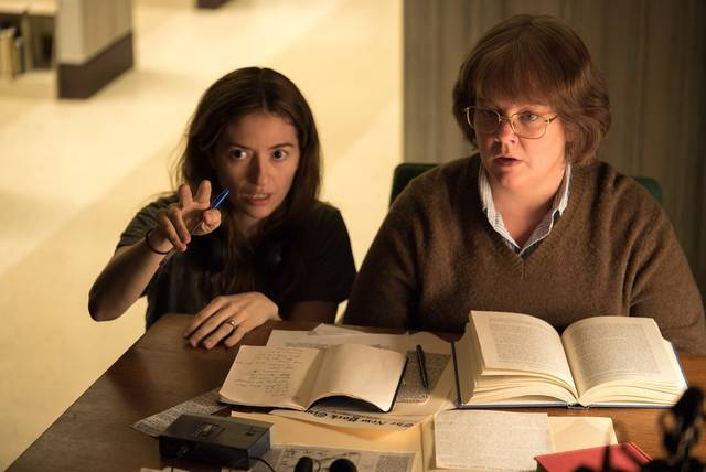 Can You Ever Forgive Me Melissa McCarthy e la regista Marielle Heller dal set del film