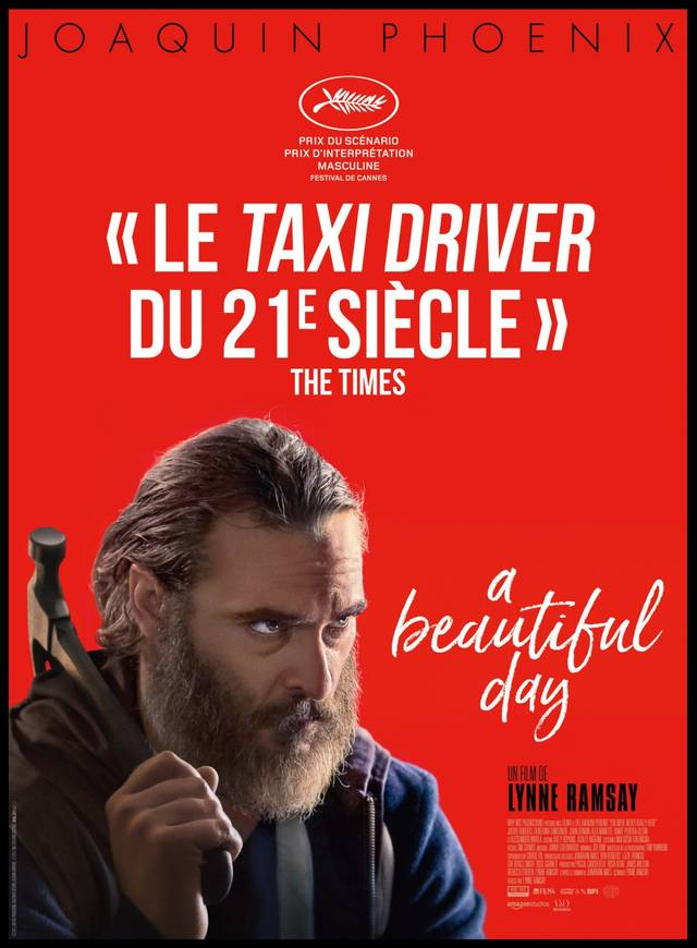 You Were Never Really Here Teaser Poster Francia