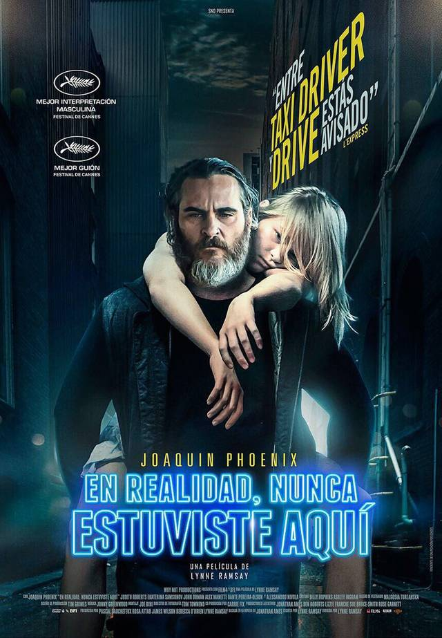 You Were Never Really Here Teaser Poster Spagnolo