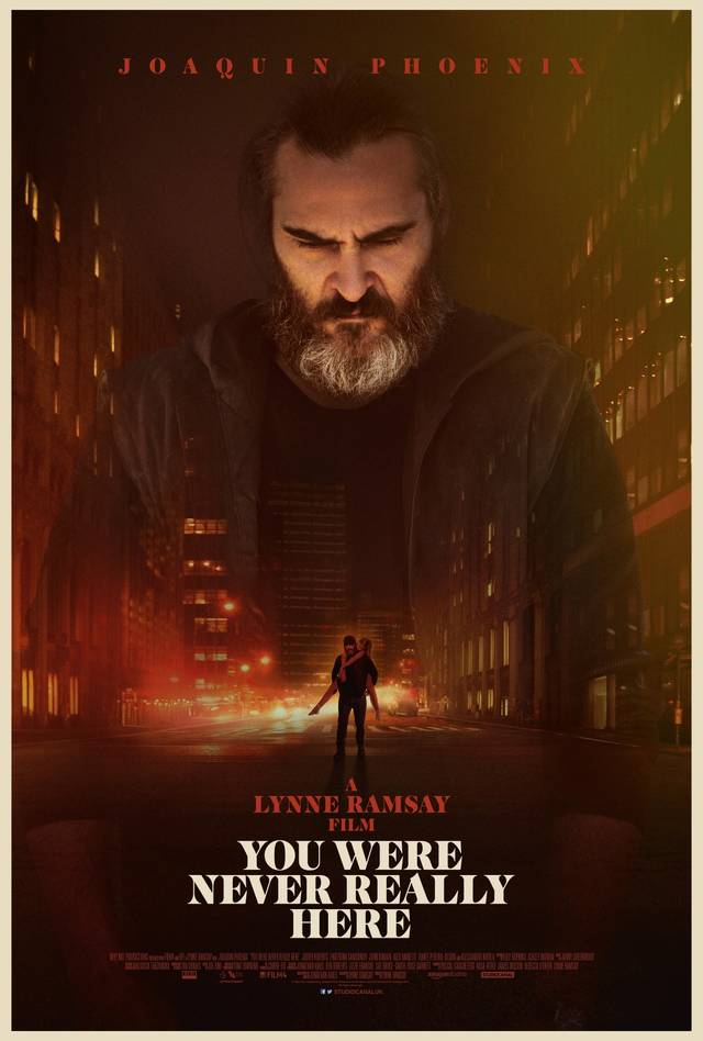 You Were Never Really Here Teaser Poster USA 2