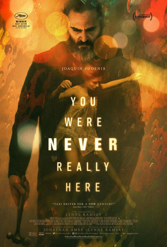 You Were Never Really Here Teaser Poster USA 3