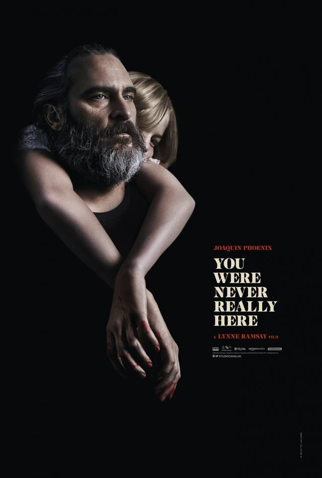 You Were Never Really Here Teaser Poster USA 5