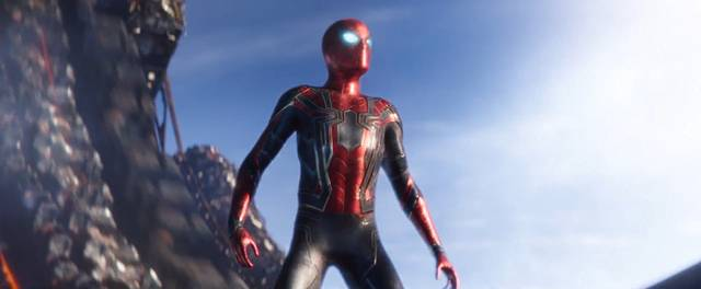 Avengers - Infinity War Tom Holland foto dal film 4