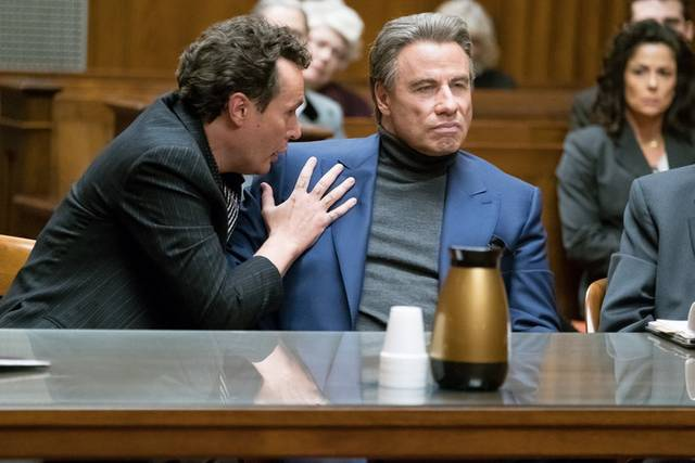 Gotti John Travolta Chris Kerson foto dal film 2