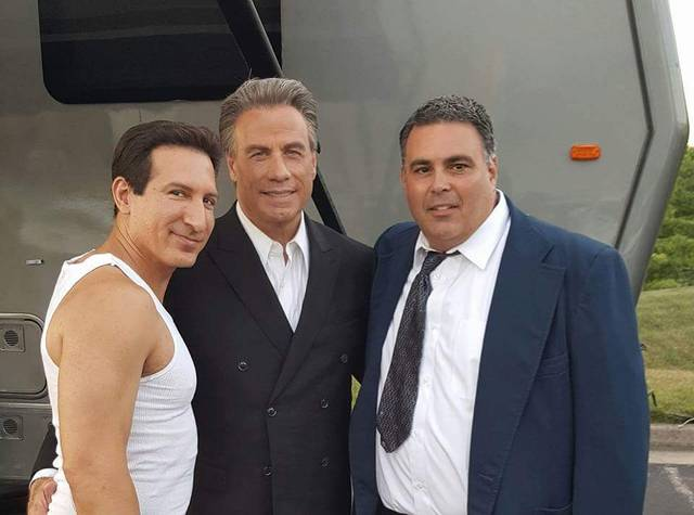Gotti John Travolta William DeMeo foto dal set 1