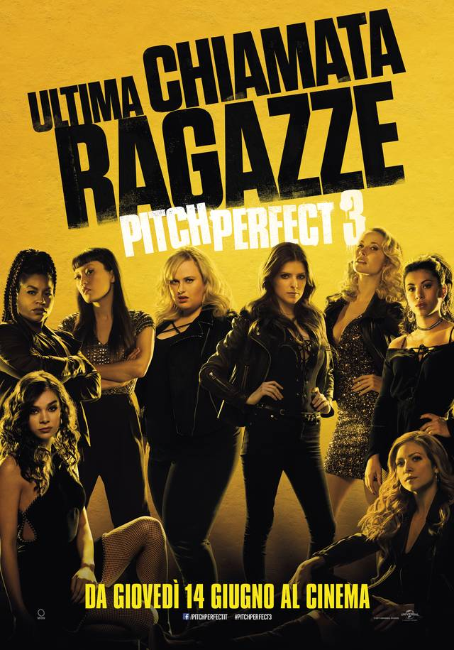Pitch Perfect 3 Teaser Poster Italia