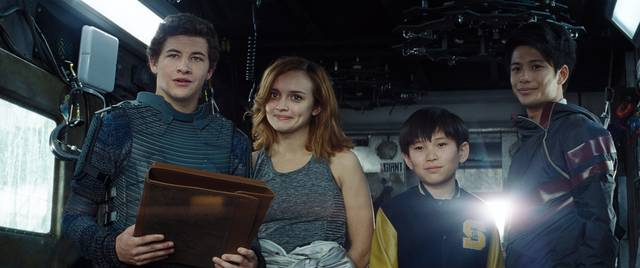 Ready Player One_Tye Sheridan Olivia Cooke Win Morisaki Philip Zhao_foto dal film 3