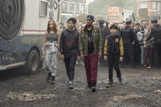 Ready Player_One Olivia Cooke Win Morisaki Philip Zhao_foto dal film 3