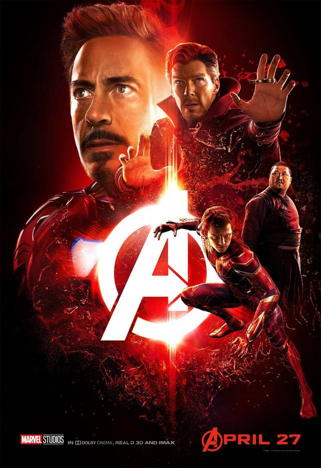 Avengers - Infinity War Teaser Characters Poster USA 1