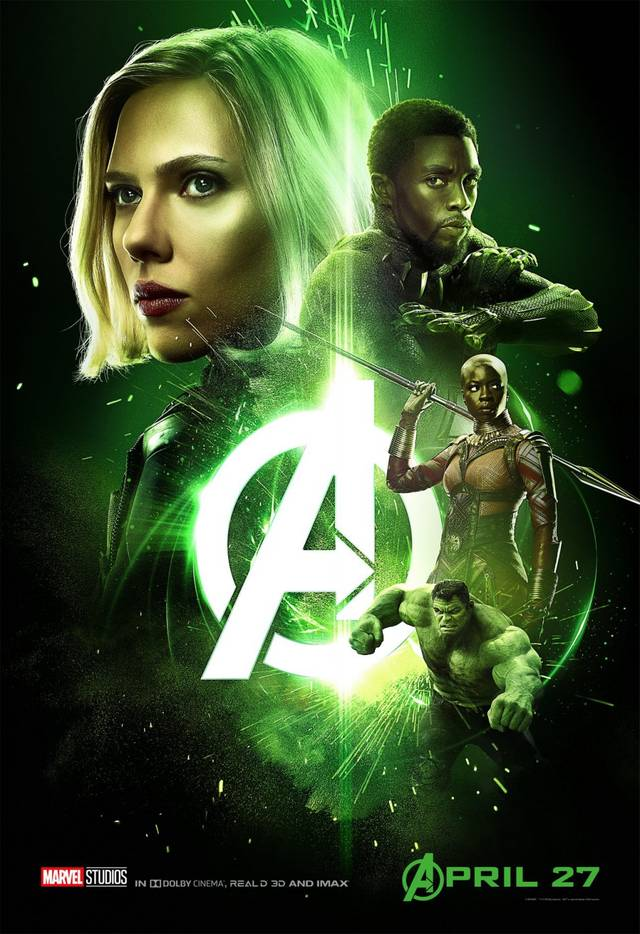 Avengers - Infinity War Teaser Characters Poster USA 2