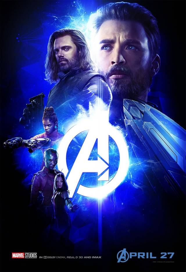 Avengers - Infinity War Teaser Characters Poster USA 3