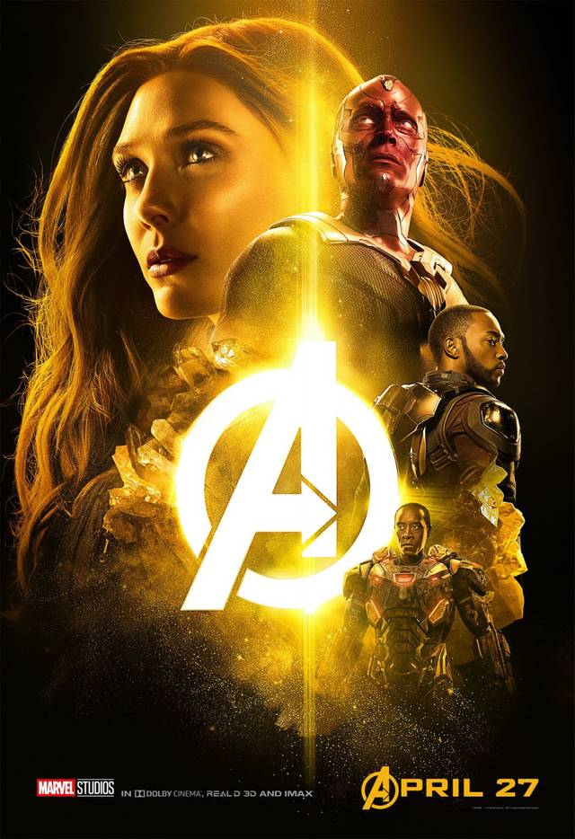 Avengers - Infinity War Teaser Characters Poster USA 4