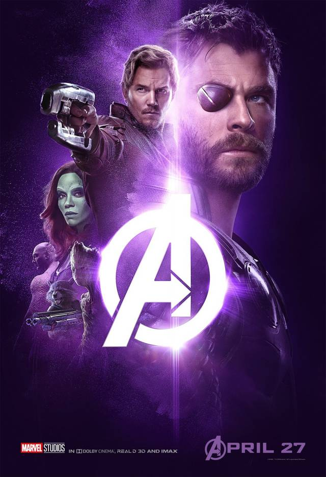 Avengers - Infinity War Teaser Characters Poster USA 5