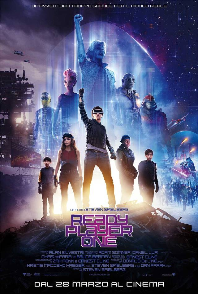 Ready Player One Poster Italia