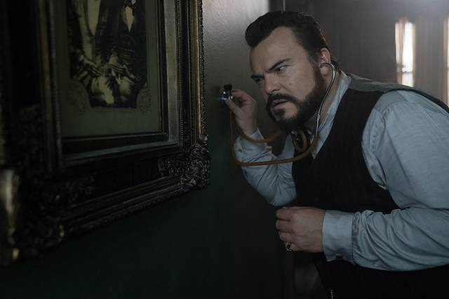 The House with a Clock in its Walls Jack Black foto dal film 2