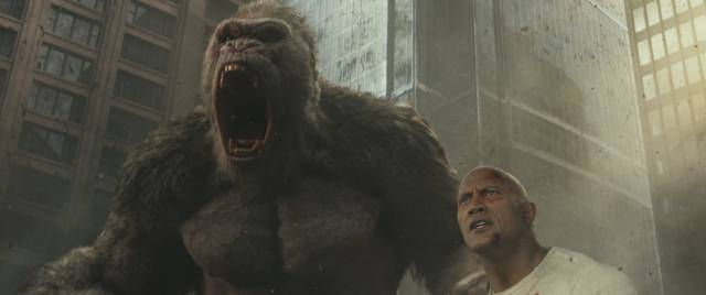 Rampage - Furia animale_Dwayne Johnson_foto dal film 13