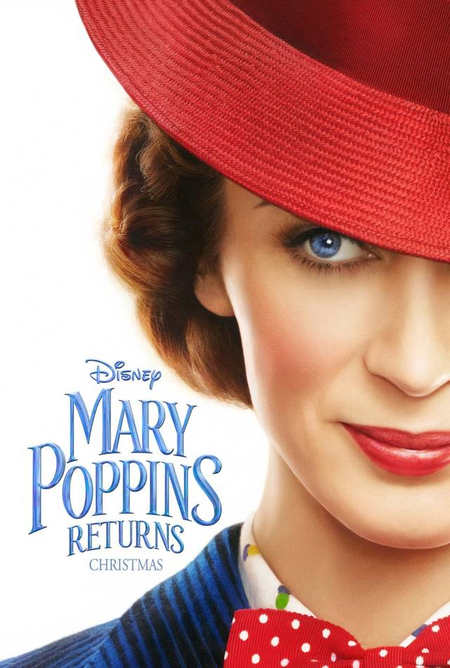 Mary Poppins Returns Teaser Poster USA