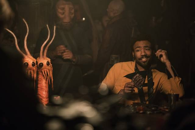 Solo - A Star Wars Story Donald Glover foto dal film 1