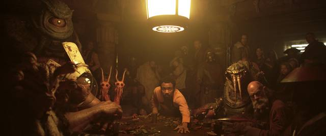 Solo - A Star Wars Story Donald Glover foto dal film 2
