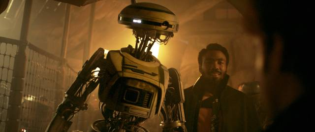 Solo - A Star Wars Story Donald Glover foto dal film 3