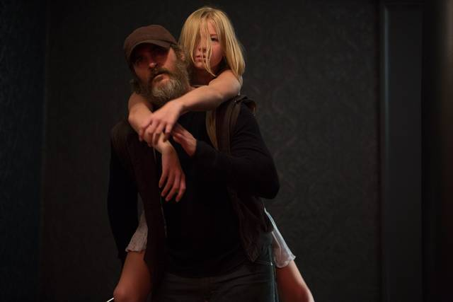 A Beautiful Day - You Were Never Really Here Ekaterina Samsonov Joaquin Phoenix foto dal film 1