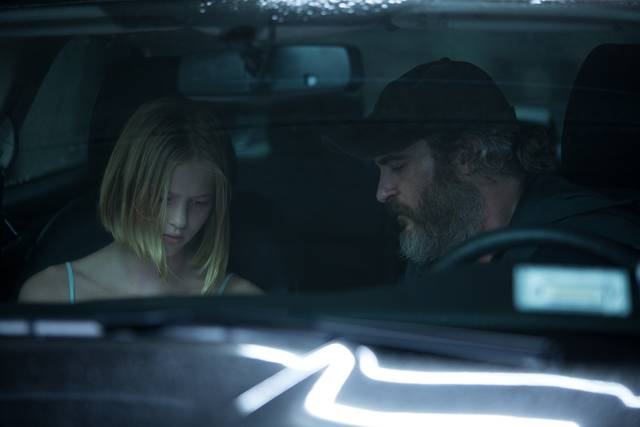 A Beautiful Day - You Were Never Really Here Ekaterina Samsonov Joaquin Phoenix foto dal film 3
