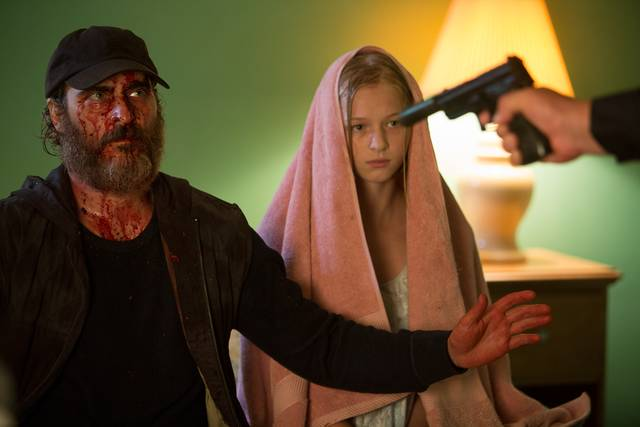 A Beautiful Day - You Were Never Really Here Ekaterina Samsonov Joaquin Phoenix foto dal film 6