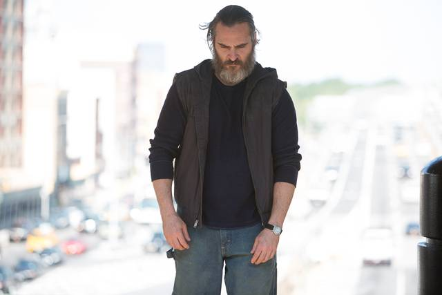 A Beautiful Day - You Were Never Really Here Joaquin Phoenix foto dal film 12