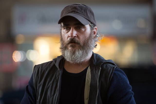 A Beautiful Day - You Were Never Really Here Joaquin Phoenix foto dal film 13