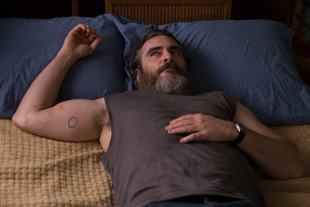 A Beautiful Day - You Were Never Really Here Joaquin Phoenix foto dal film 15